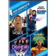 4 Film Favorites: Eddie Murphy Family A Thousand Words   IMagine That   Dreamgirls   The Adventures Of Pluto Nash... by