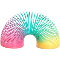 Rainbow Plastic Spring Toy Party Favors, 2.5in, 4ct