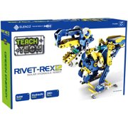 Teach Tech Rivet-Rex 12 | Hydro-Mechanical Solar Robot Kit | STEM Educational Toys for Kids Age 10+
