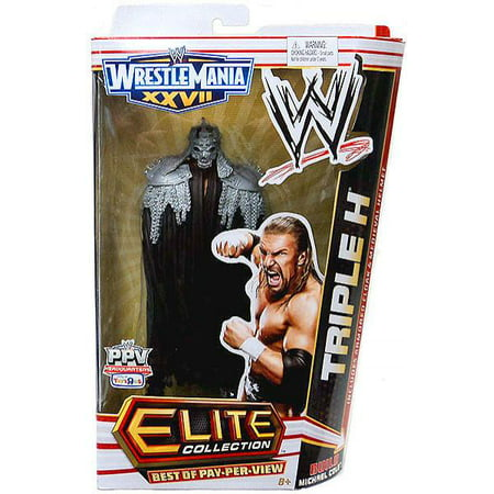 WWE Wrestling Elite Best of Pay Per View Triple H Exclusive Action