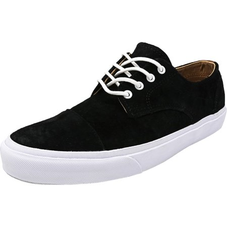 c72ac7abca Vans - Vans Men s Dillon Ca Pig Suede Black   White Ankle-High  Skateboarding Shoe - 11M - Walmart.com