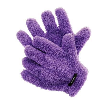 Upper Canada Soap Studio Dry Hair Drying Gloves  Purple