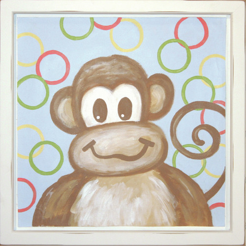 Renditions by Reesa Monkey Deco Framed Art