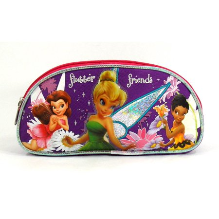 Tinker Bell Bag - Tinkerbell Double Compartment Accessory Case - Pixie Sunfl... by Disney Disney Accessory Case