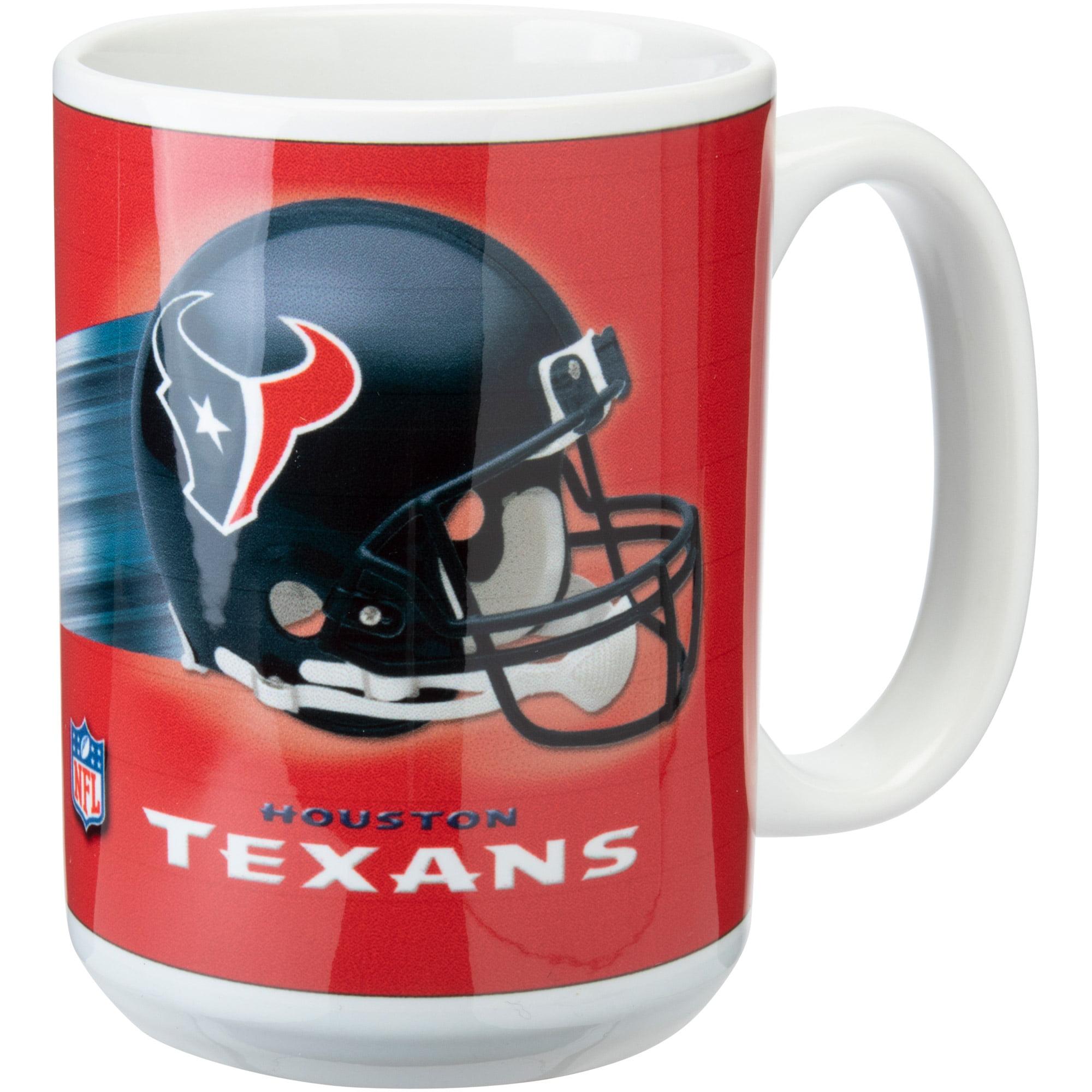 Houston Texans 15oz. Team 3D Graphic Mug - No Size