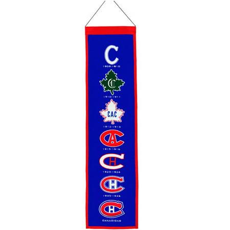 Winning Streak Montreal Canadiens Heritage Banner