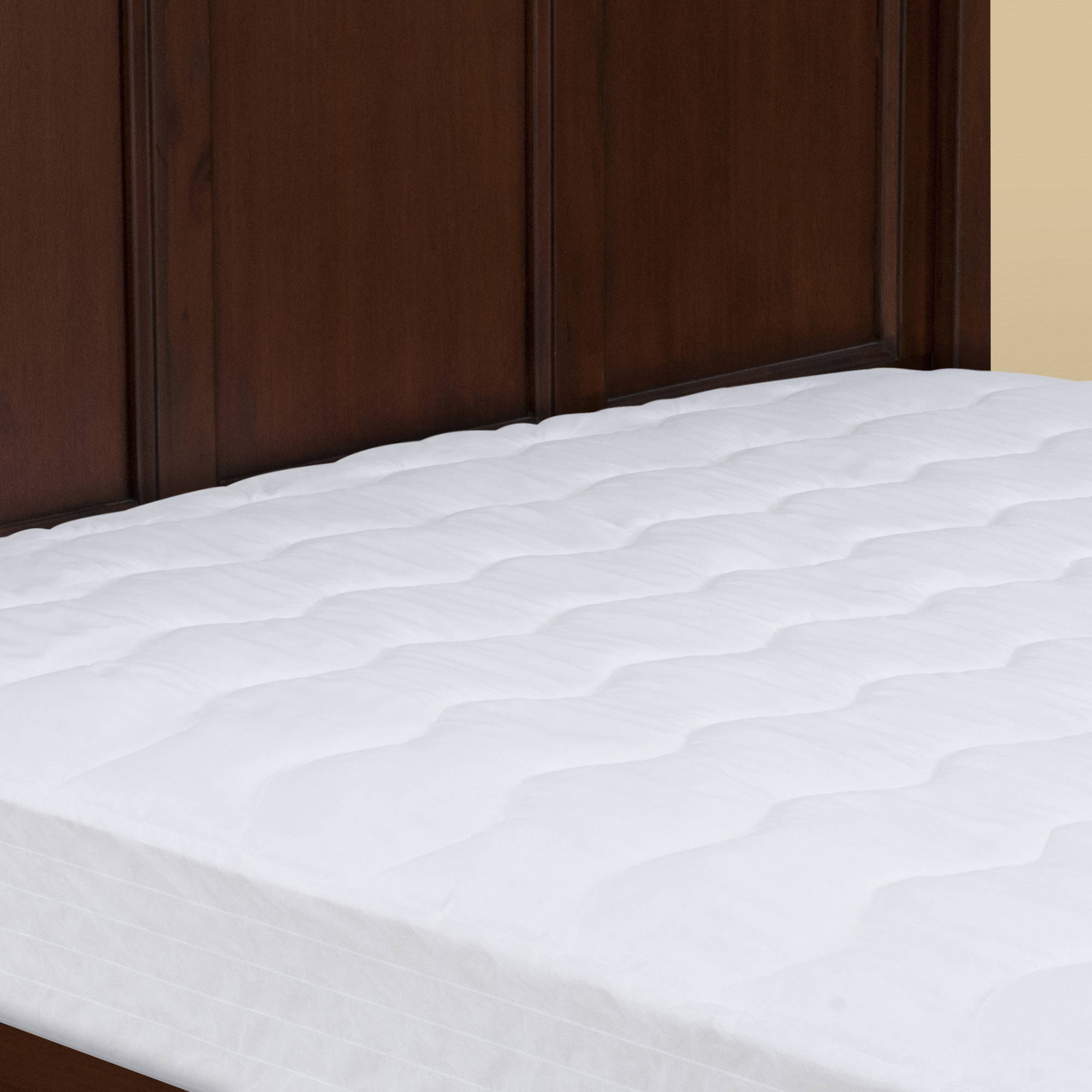 thick mattress pad. Mainstays Extra-Thick Mattress Pad 7.5 Oz Fill In Multiple Sizes Image 2 Of 5 Thick