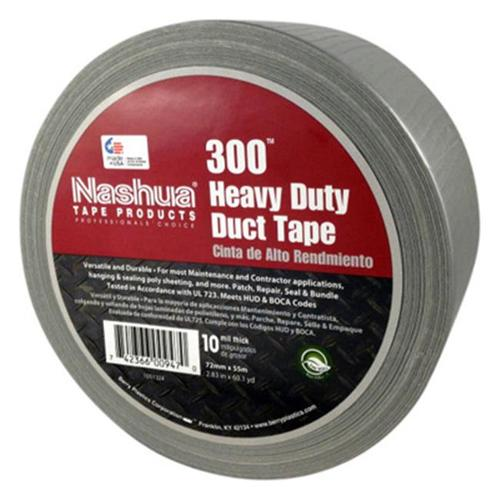 Berry Plastics Tapes/Coating 1087088 Duct Tape, Silver, 2.83-In. x 60-Yds.