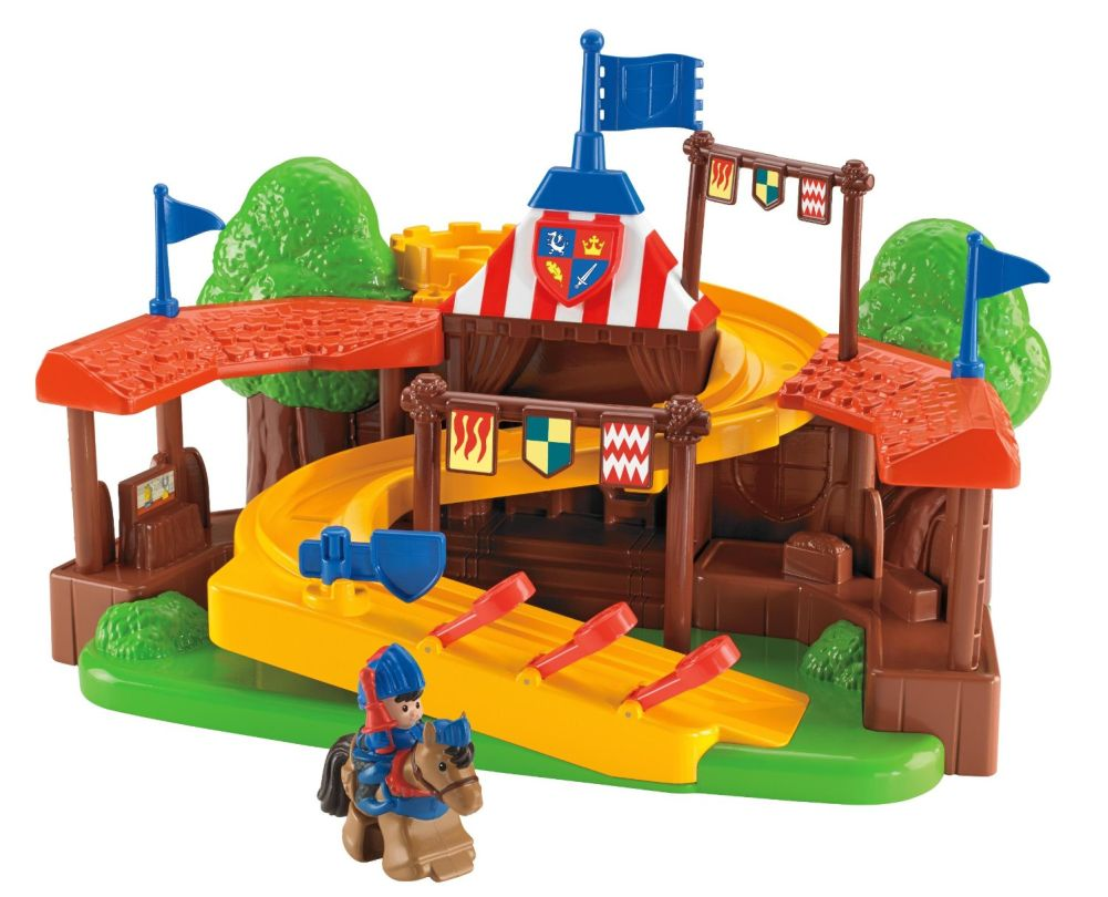 Fisher Price Little People Mike The Knight Klip Klop Arena Playset by Little People