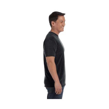 54e5380bf Comfort Colors 6.1 Oz. Ringspun Garment-Dyed T-Shirt, 2XL, Black ...