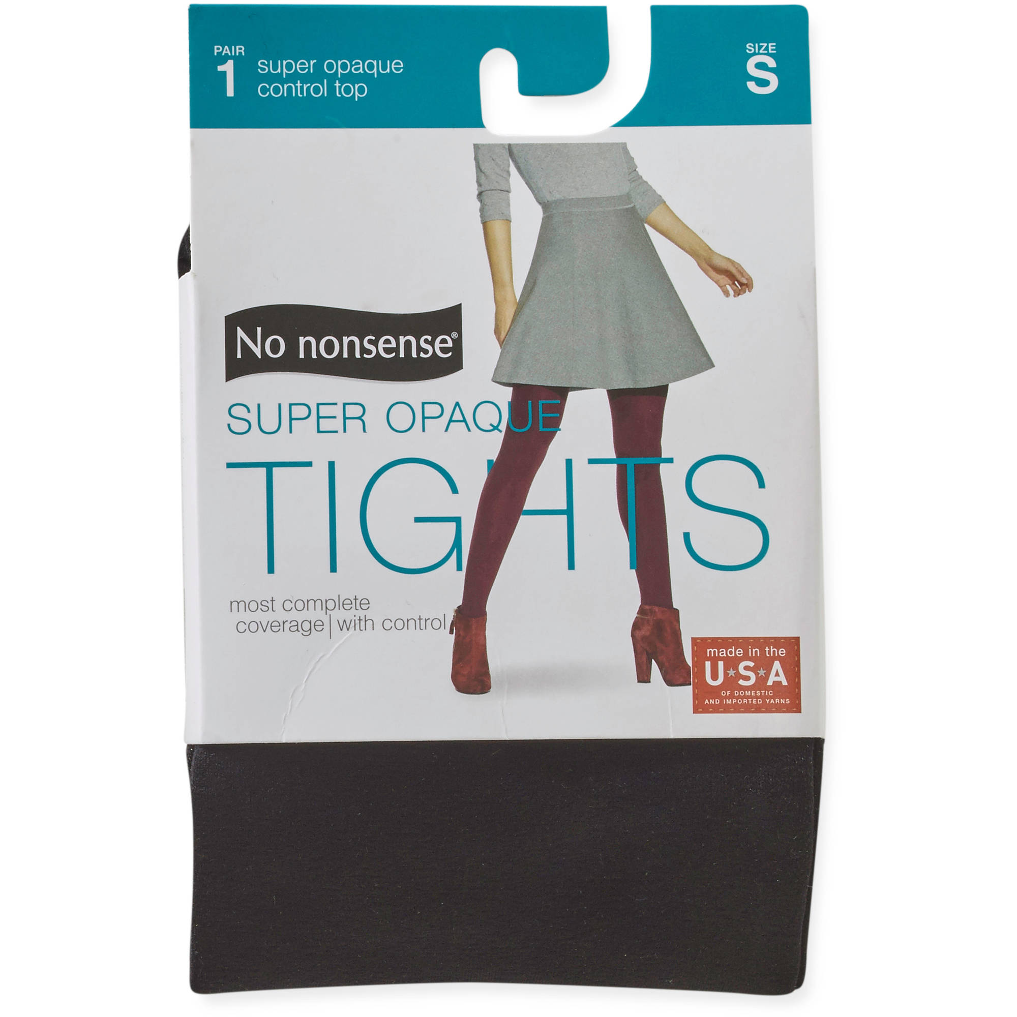No nonsense Women's Super Opaque Control Top Tights