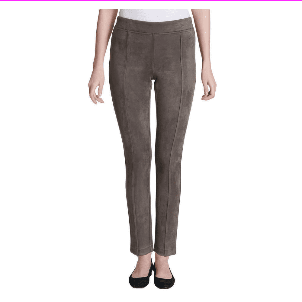 ANDREW MARC NEW Choose Colors//Size Ladies Faux Suede Pull On Pants