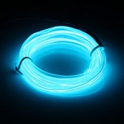 Led light strips 1m led flexible el wire neon glow light rope strip 12v for christmas aloadofball Image collections