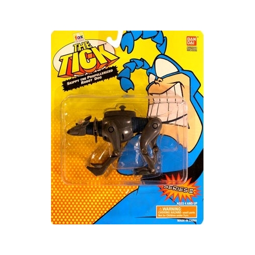 The Tick Series 2 Skippy the Propellerized Robot Dog Action Figure