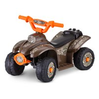 Mossy Oak Toddler Ride-On Toy by Kid Trax, Brown / Orange / Camo