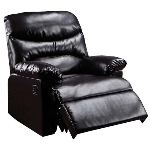 ACME Furniture Arcadia Recliner in Light Brown by Acme Furniture