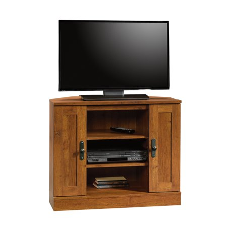Sauder Harvest Mill Corner Entertainment Stand for TVs up to 37