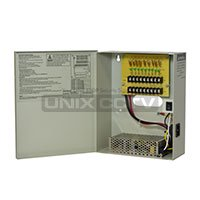 TR-C12VDC09P10A  DC 12V 9CH 10A Non-Fused Breaker Power -