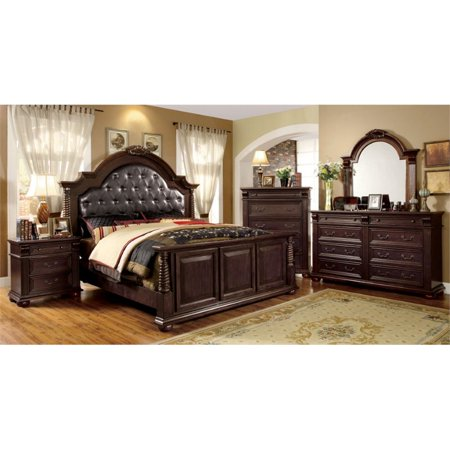 Collection California King Bedroom Set (Furniture of America Catherine 4 Piece California King Bedroom Set )