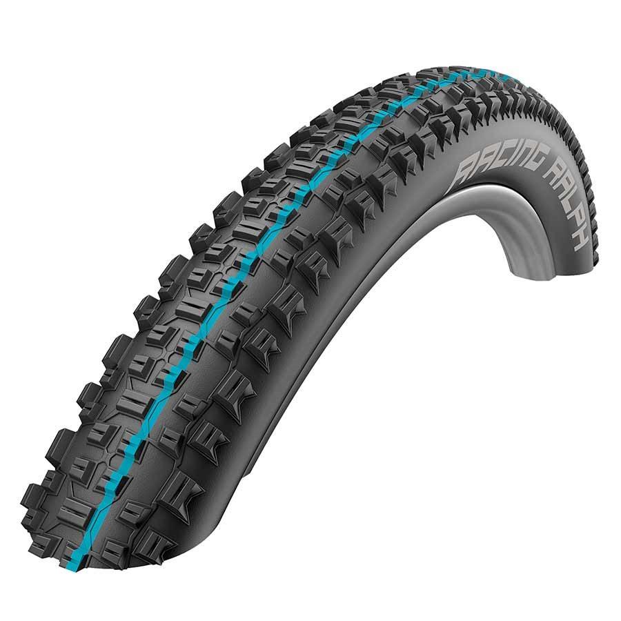 Schwalbe Racing Ralph Tubeless Easy SnakeSkin Tire, 29 x 2.25 EVO Folding Bead Black with Addix Speed Compound