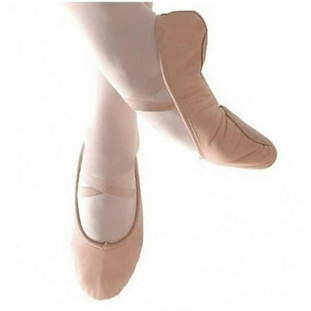 EFINNY Child Adult Canvas Ballet Dance Shoes Slippers Pointe