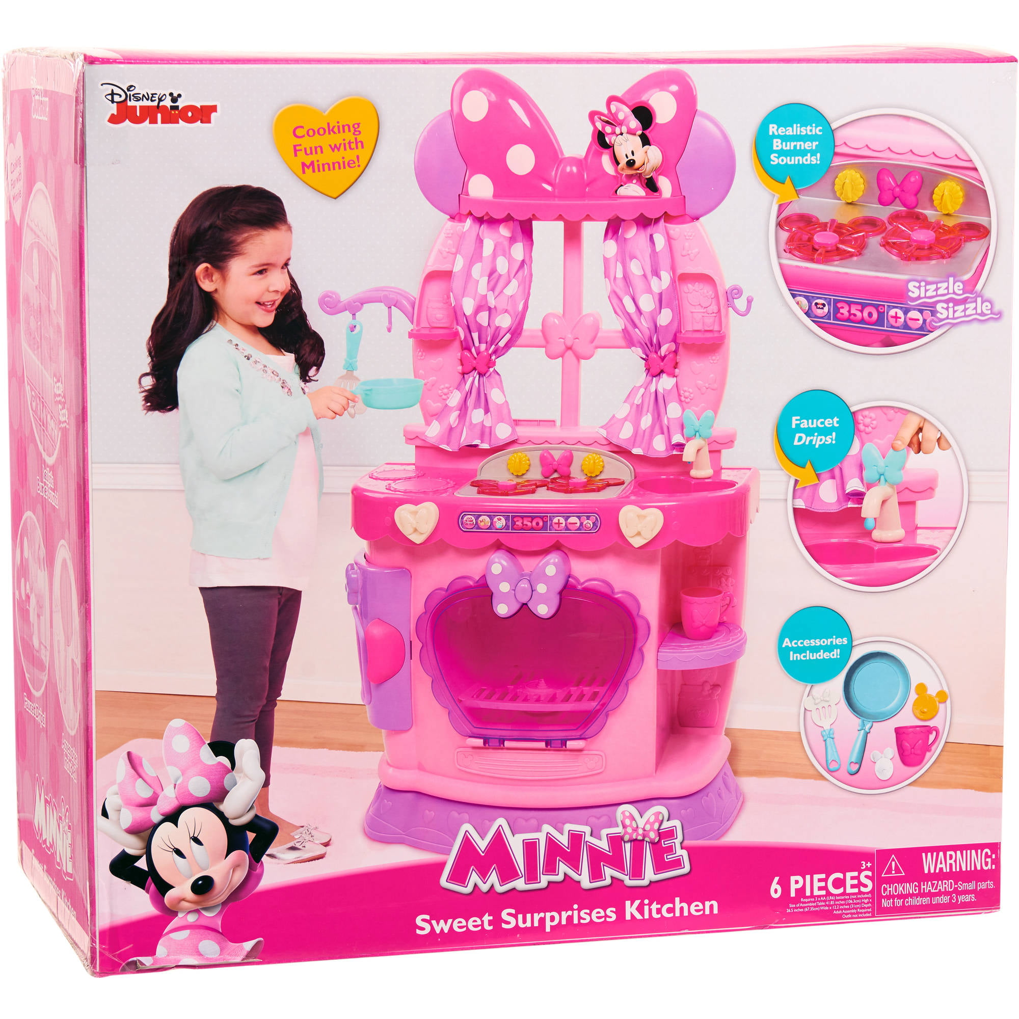 disney minnie mouse sweet surprises kitchen walmart com rh walmart com