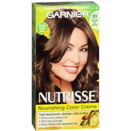 Garnier Nutrisse Haircolor - 51 Cool Tea (Medium Ash Brown) 1 (Cool Colours)