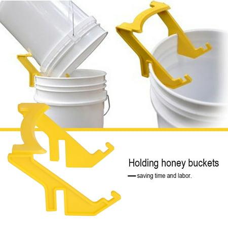 Ejoyous Honey Bucket Holder, Beekeeping Honey Holder,Plastic Bee Honey Bucket Rack Frame Grip Holder Beekeeping Beekeepers Tool - image 4 of 7