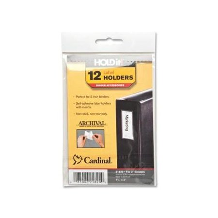 Cardinal HOLDit! Label Holders CRD21820