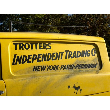 Trotters Reliant Van from Only Fools and Horses tv programme Print Wall (Only Fools And Horses Van For Sale)