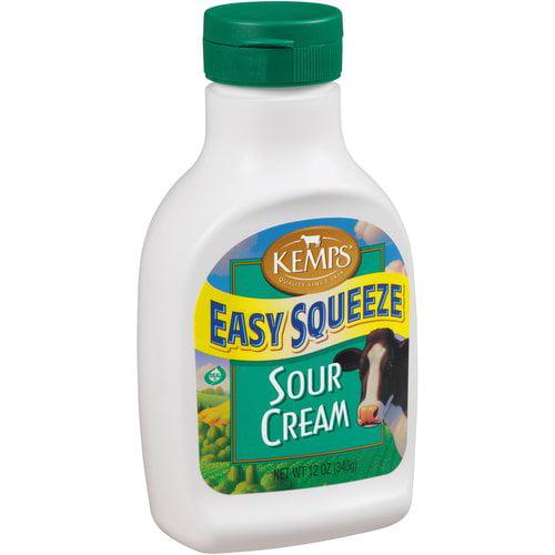 Kemps Easy Squeeze Sour Cream, 12 Oz.