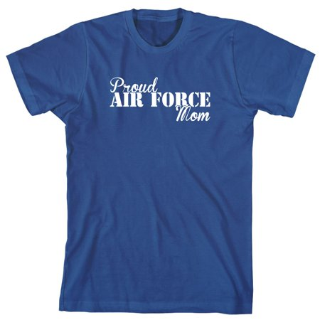Proud Air Force Mom Men's Shirt - ID: 2071 Air Purple Tee