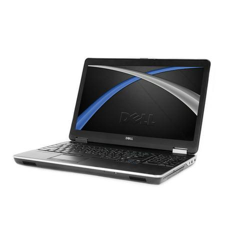"""Refurbished Dell E6540 15.6"""" Laptop, Windows 10 Pro, Intel Core i5-4300M Processor, 16GB RAM, 500GB Solid State Drive"""