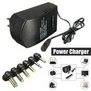 AC/DC Wall Power Adapter Universal 3,4.5,6,7.5,9,12V 2.5A Power Supply