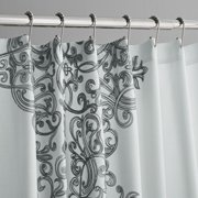 Hotel Style Manchester Embroidered Fabric Shower Curtain - Walmart.com