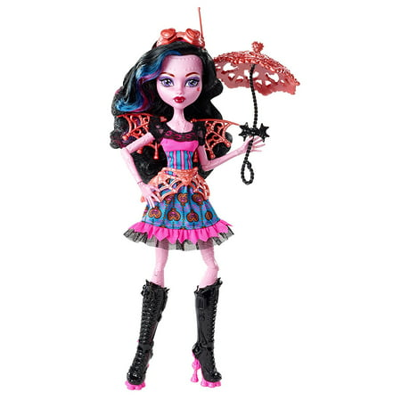 Freaky Fusion Dracubecca Doll, In a freaky twist of adventure, some of the favorite Monster High ghouls get accidentally fused together in ways never seen before.., By Monster High](Monster High Clearance)