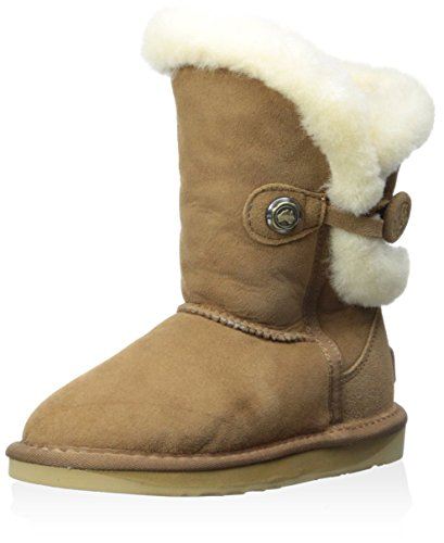 Australia Luxe Collective Kid's Nordic Short Boot, Chestnut, 9 M US Toddler