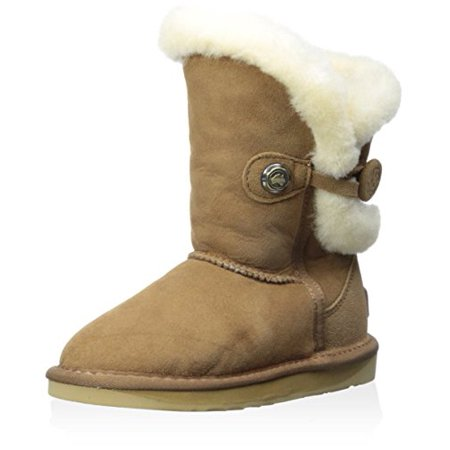 Nordic Kids Boots (Australia Luxe Collective Kid's Nordic Short Boot, Chestnut, 12 M US Little Kid)