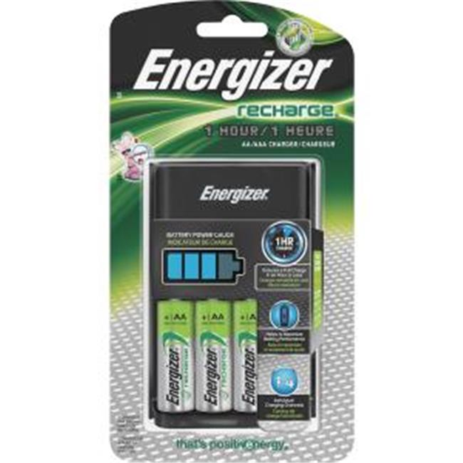Eveready EVECH1HRWB4 Recharge Battery Charger with AA & AAA Batteries by Eveready