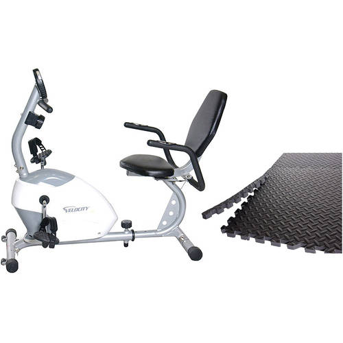 Velocity Exercise CHB-R2101 Recumbent Exercise Bike with Bonus Puzzle Mat