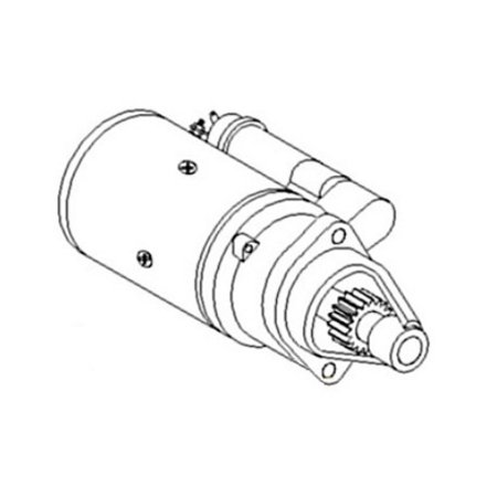 1C010-63010 New Starter Made to fit Kubota Tractor Models