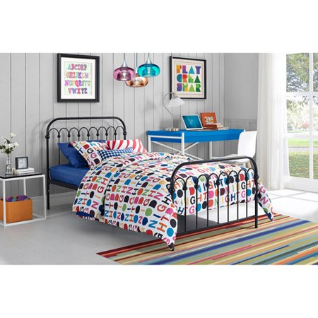 9 by novogratz bright pop twin metal bed multiple colors walmartcom