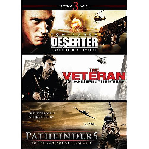 Action 3 Pack: Deserter   Pathfinders   The Veteran by