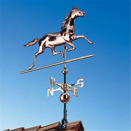 - Horse Copper Weathervane - Polished