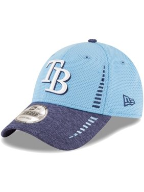 online retailer e3e7e 0d417 Product Image Tampa Bay Rays New Era Speed Tech 9FORTY Adjustable Hat -  Light Blue Heathered Navy