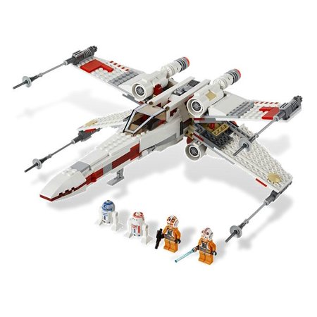 Wing Starfighter - LEGO® Star Wars X-Wing Starfighter Spaceship with 4 Minifigures | 9493