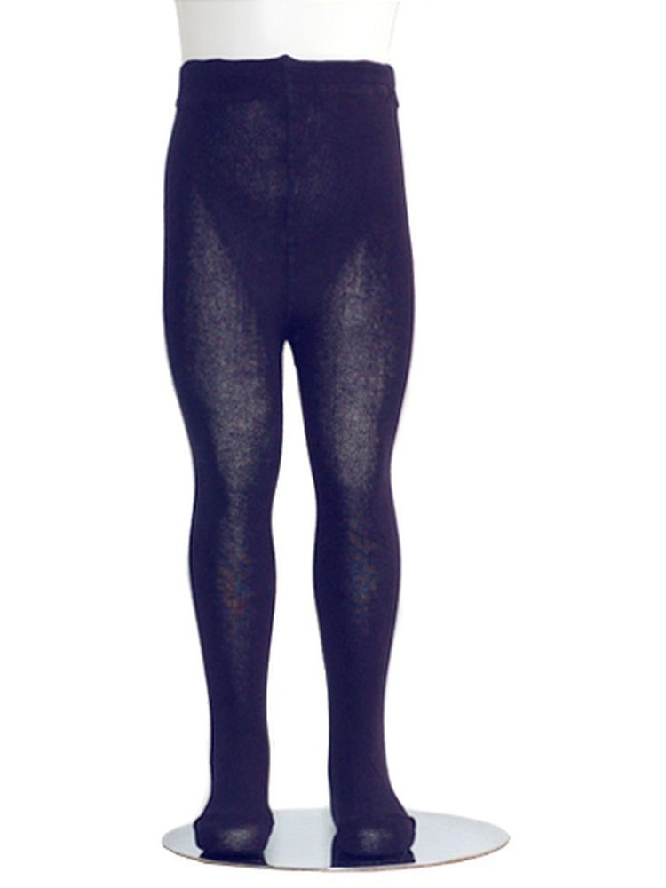 Navy Piccolo Heavyweight Opaque Toddler Little Girls Tights 2T-16