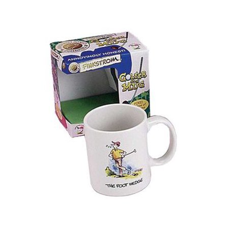 Finkstrom Golfer Gag Novelty Coffee Mug The Foot Wedge Ceramic Funny Golf (Best Golf Wedges For Beginners)