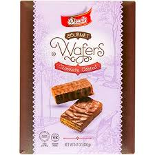 Blooms Choc. Coated Wafers 14.1 Oz