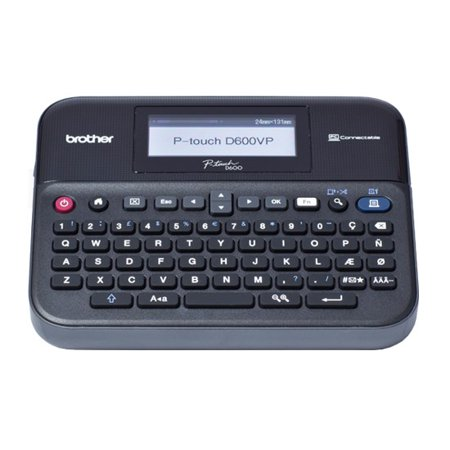 Brother PT-D600VP PC-Connectable Desktop - Idxpert Handheld Labeler